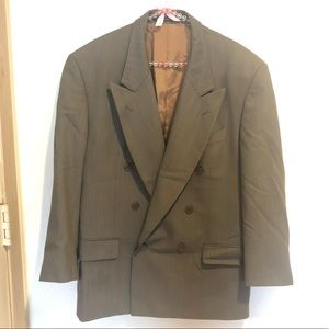 Yves Saint Laurent wool double breasted blazer